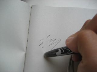 消せるボールペン 2008.4.25