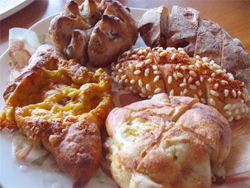 『たま木亭』のパン