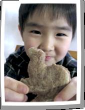とんきちと約束していたクッキー作り♪