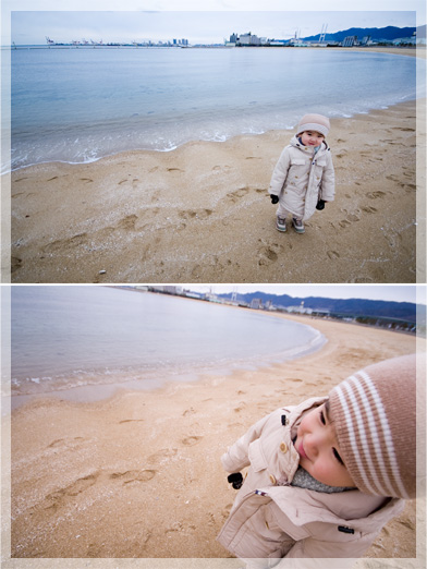 芦屋浜・・・