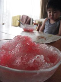 とんきち待望~かき氷~