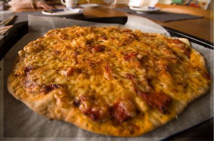 ママきちの初のピザ作りは・・・