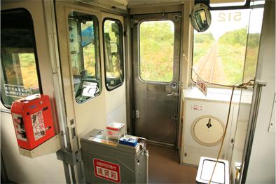 列車の中で・・・