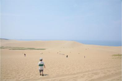 来ちゃいました ~鳥取砂丘~