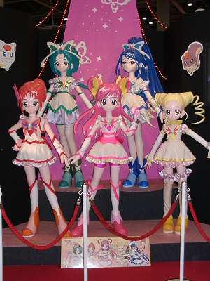 2007東京おもちゃショーのプリキュアさん 002