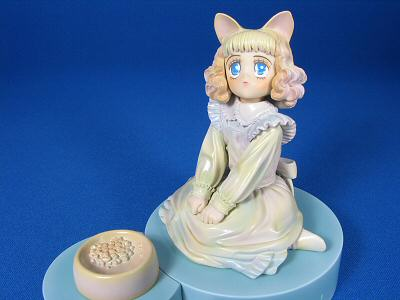 綿の国星チビ猫ビネットフィギュア 001
