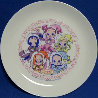 おジャ魔女どれみケーキ皿 001