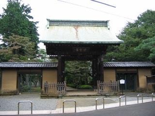 豪徳寺門.