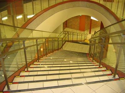 馬車道 階段