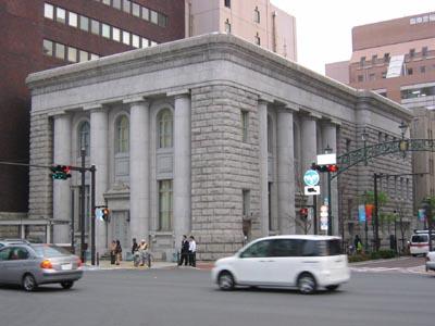 旧富士銀行横浜支店斜め