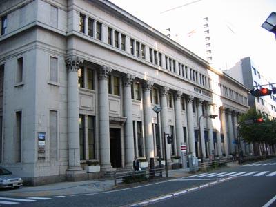 日本郵船歴史博物館外観.