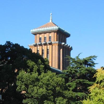 神奈川県庁舎塔屋