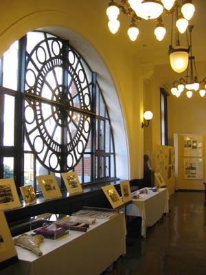 横浜開口記念館 内部2階展示室