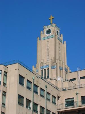聖路加国際病院 鐘塔