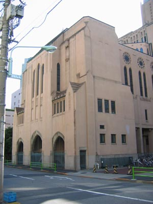 聖路加国際病院 聖堂全景
