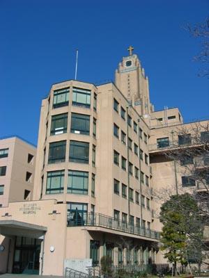 聖路加国際病院 病院側全景