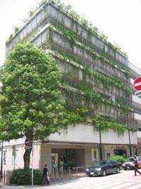 高島屋二子多摩川店駐車場.