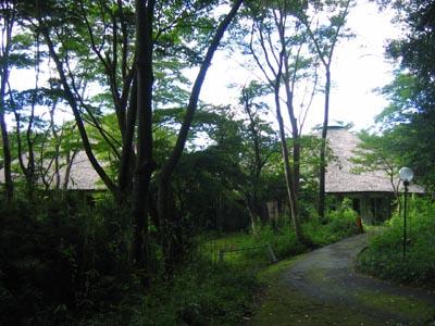 樹木園休憩所全景