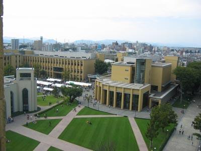 A学院中央広場