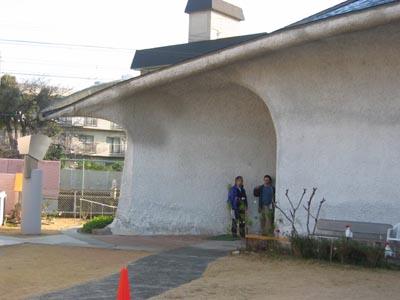 宝塚カトリック教会-入口