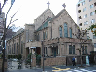 カトリック神田教会-正面