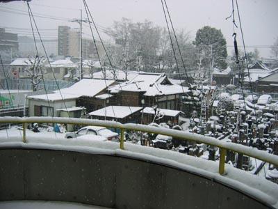 \2-3も雪景色