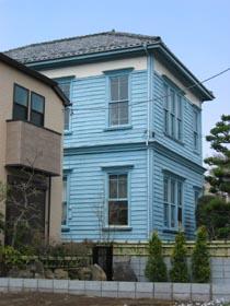 青い洋館①