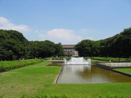 東京国立博物館遠景