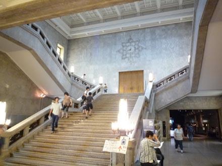 東京国立博物館階段①.