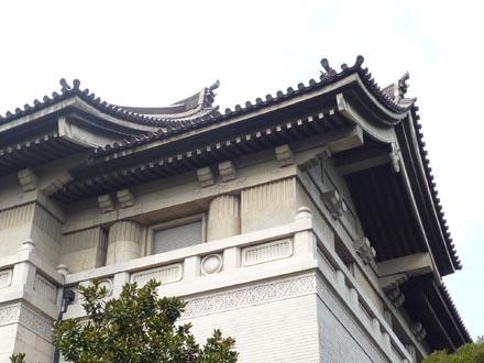 東京国立博物館屋根詳細③.