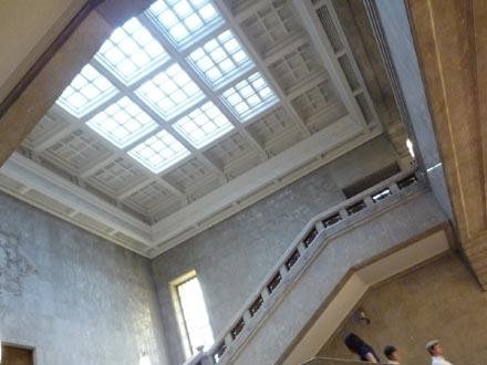 東京国立博物館階段②.