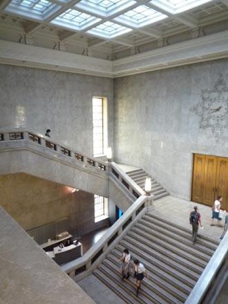 東京国立博物館階段③