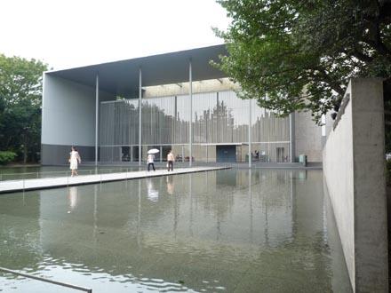 法隆寺法物館外観②
