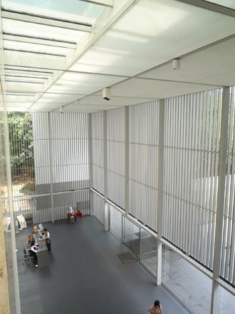 法隆寺法物館ホール①.