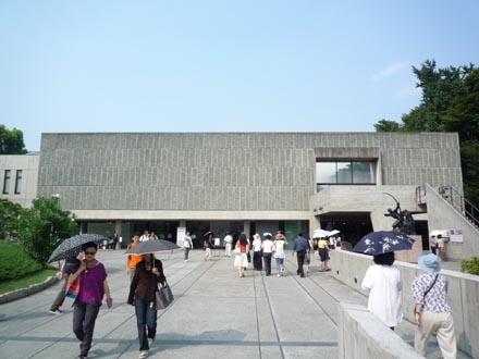 国立西洋美術館正面外観