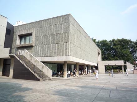 国立西洋美術館側面外観