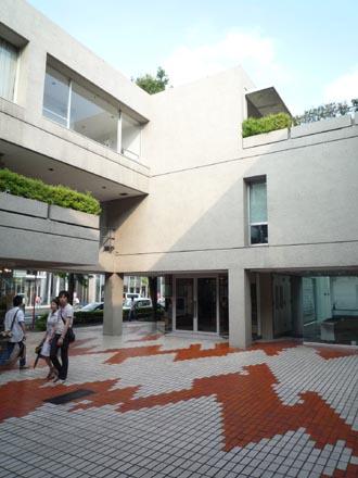 ヒルサイドテラC棟中庭2