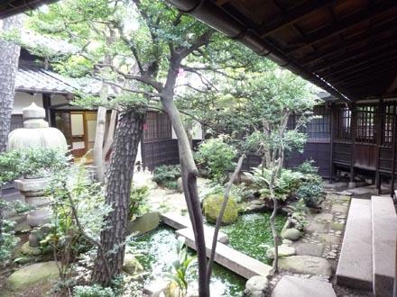 旧朝倉邸中庭