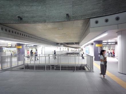 副都心線渋谷駅\副都心線渋谷駅ホーム