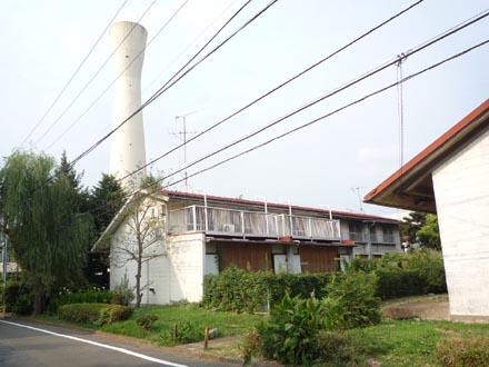 公団阿佐ヶ谷住宅 給水塔と前川タイプ