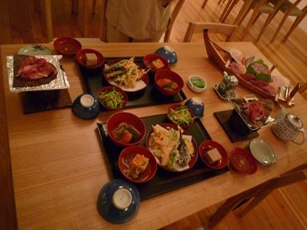 禅の湯夕食