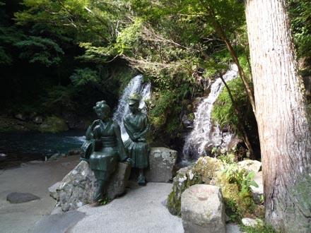 初景滝と踊り子