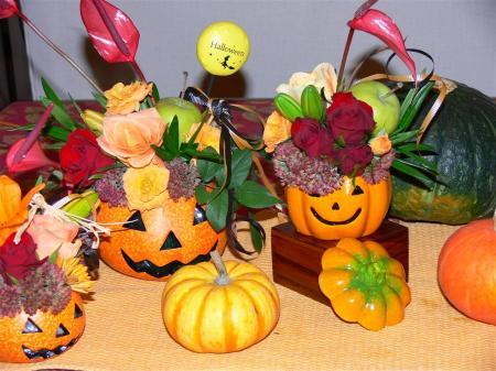 かぼちゃ達の記念撮影