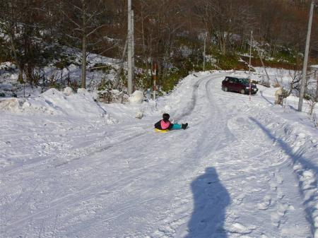 滑り台で滑りたい ^^;