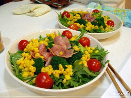 山本さんのサラダ