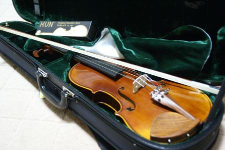 アスコットのヴァイオリン