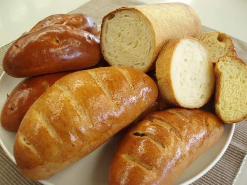 山盛りパン