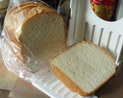 牛乳たっぷり食パン