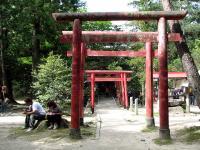 上野公園内神社