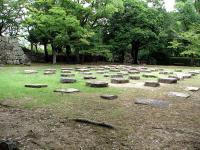 広島城・天守礎石